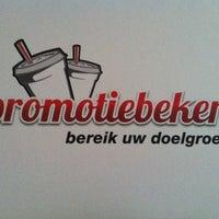 Photo taken at Promotiebeker by Maarten V. on 9/29/2012