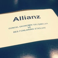 Photo taken at Allianz Yaşam ve Emeklilik İç Anadolu Bölge Müdürlüğü by Duygu C. on 10/23/2014