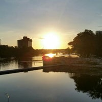 Photo taken at Austin Coolers Dragon Boat Warehouse by Steve D. on 7/25/2016