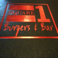 Photo taken at Square 1 Burgers by Laurie M. on 3/24/2013