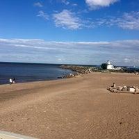 Photo taken at Lake Ladoga by Юля on 6/18/2016