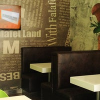 Photo taken at Falafel Land by Falafel Land - فلافل لاند on 8/12/2014