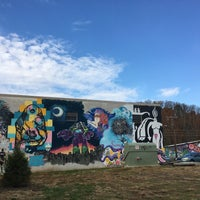 Photo taken at River Arts District by Mina S. on 11/3/2017