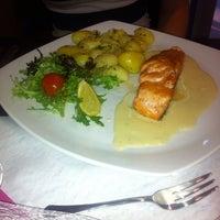 Photo taken at Restaurace Wellness by Petr L. on 8/16/2013
