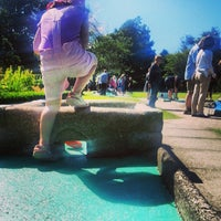Photo taken at Obstacle Golf @ Hope Park by Ian G. on 8/2/2013