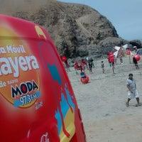 Photo taken at Playa León Dormido by Francisco A. on 2/8/2015
