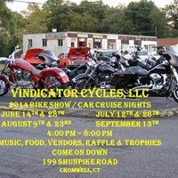 Photo taken at Vindicator Cycles by Staci B. on 7/16/2014