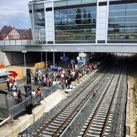 Photo taken at Bahnhof Berlin Ostkreuz by Miguel P. on 8/17/2013