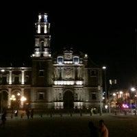Photo taken at Plaza de Santo Domingo by Andrés C. on 10/21/2012