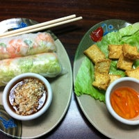 Photo taken at Pho Crystal Vietnamese Cuisine by Taylor N. on 12/5/2012