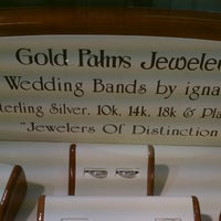 Photo taken at Gold Palm Jewelers by David on 3/19/2013