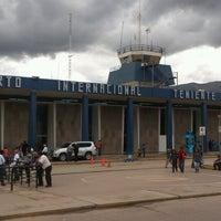 Photo taken at Alejandro Velasco Astete International Airport (CUZ) by Michael A. on 4/4/2013