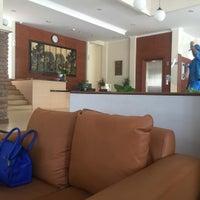 Photo taken at Ahadiat Hotel & Bungalow by Nino D. on 2/27/2016
