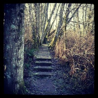 "Photo taken at ""Radar Park"" at Cougar Mountain Regional Wildland Park by Kurt C. on 1/1/2013"