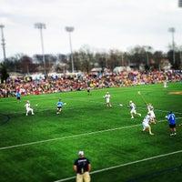 Photo taken at Arlotta Stadium by Jim L. on 4/19/2015