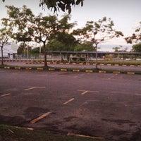 Photo taken at Parking Kompleks Sukan Likas by Ramlah A. on 5/22/2014