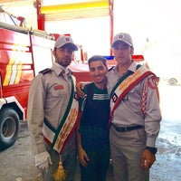 Photo taken at Central Fire Station | ایستگاه آتشنشانی مرکزی قزوین by Alireza S. on 9/29/2014