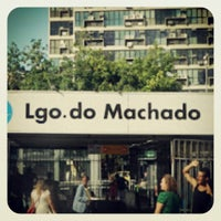 Photo taken at MetrôRio - Estação Largo do Machado by Cláudia C. on 5/21/2013
