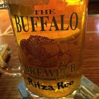 Photo taken at Buffalo Brewpub by Maritza M. on 4/18/2014