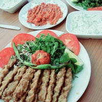 Photo taken at Karabüber Kebap Salonu by Hasan D. on 8/5/2016