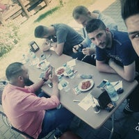 Photo taken at Karabüber Kebap Salonu by Hasan D. on 7/23/2016