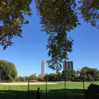 Photo taken at Central Park - North Meadow Fields 1-4 by Kevin T. on 10/11/2015