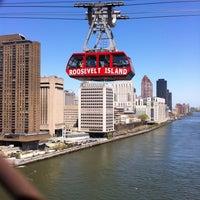 Photo taken at Roosevelt Island Tram (Manhattan Station) by Kevin T. on 5/5/2013