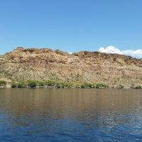 Photo taken at Desert Belle Tour Boat by Jim S. on 4/21/2014