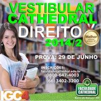 Foto tirada no(a) Faculdade Cathedral por Faculdade Cathedral em 7/23/2014
