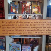Photo taken at Cracker Barrel Old Country Store by justcorey. on 8/3/2013