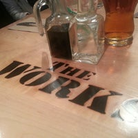 Photo taken at The Works Gourmet Burger Bistro by Paul M. on 5/24/2013