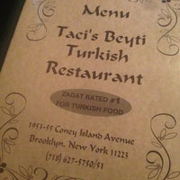 Photo taken at Taci's Beyti Restaurant by Jo  G. on 4/1/2013