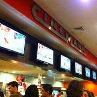 Photo taken at Cinemark by Ana Cristina Mokdeci®  on 1/17/2013
