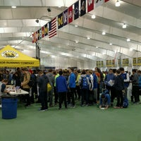 Photo taken at Michigan Indoor Track Building by Carter S. on 1/15/2017