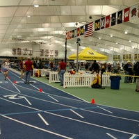 Photo taken at Michigan Indoor Track Building by Carter S. on 1/8/2017