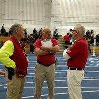 Photo taken at Michigan Indoor Track Building by Carter S. on 2/12/2016