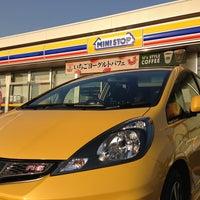 Photo taken at ミニストップ 土浦大畑店 by Yoshiyuki on 3/16/2013
