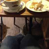 Photo taken at Green Caffè Nero by Kama A. on 1/5/2017