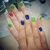 Photo taken at Theory Nail Lounge by Arlyne D. on 3/28/2015