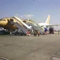 Photo taken at Tribhuvan International Airport (KTM) by Oleg B. on 11/26/2012