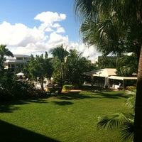 Photo taken at DoubleTree by Hilton Hotel and Executive Meeting Center Palm Beach Gardens by Sandra M. on 11/18/2012