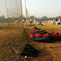 Photo taken at Shivaji Park by Mehul S. on 2/8/2013