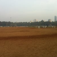 Photo taken at Shivaji Park by Mehul S. on 1/30/2013