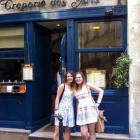 Photo taken at Crêperie des Arts by Diana J. on 6/12/2014
