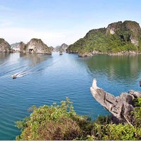 Photo taken at Halong Bay Cruises by Thanh N. on 10/31/2014