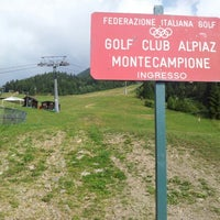 Photo taken at golf by Francesco T. on 7/7/2012