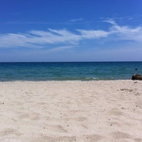 Photo taken at Worth Ave Beach by Patrick P. on 8/21/2012