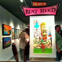 Photo taken at The Art of Nat Reed by Bill W. on 2/17/2014