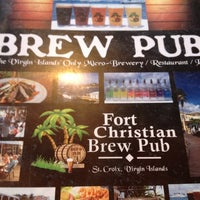 Photo taken at Fort Christian Brew Pub by Maureen H. on 2/27/2013