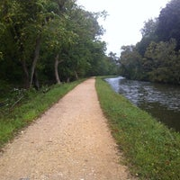 Photo taken at Capital Crescent Trail - Bethesda by Jeffrey A. on 9/18/2012